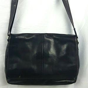 Danier Leather Laptop Messenger Bag